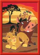 Ravensburger 27786 Malen nach Zahlen Serie E Der König der Löwen