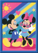 Ravensburger 277889 Malen nach Zahlen Serie E Mickey & Minnie, Malset