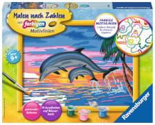 Ravensburger 27790 Malen nach Zahlen Serie D Paradies der Delfine