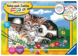 Ravensburger 28910 Malen nach Zahlen Tierfreundschaft
