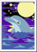 Ravensburger 27694 Malen nach Zahlen Kleiner Delfin