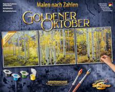 Simba Malen nach Zahlen - Goldener Oktober (Tript.)