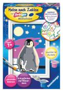 Ravensburger 28775 Malen nach Zahlen Kleiner Pinguin
