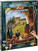 Malen nach Zahlen - Wein aus der Toskana