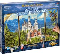 Malen nach Zahlen - Schloss Neuschwanstein