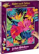 Schipper - Malen nach Zahlen: Exotische Blütenträume