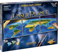 Schipper - Malen nach Zahlen: Unser Planet (Tript.)