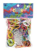 Rainbow Loom Gummibänder Mix 600 Stück