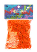 Rainbow Loom - Gummibänder orange 600 Stück