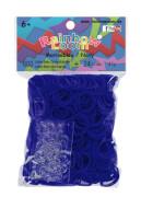 Rainbow Loom - Gummibänder blau 600 Stück