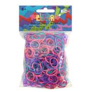 Rainbow Loom Gummibänder-Mix Meerjungfrau