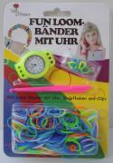 Fun Loom Bands mit Uhr, 200 Ringe