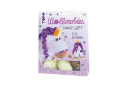 Häkelset Fabelhafte Wollowbies Einhorn