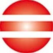 Clickhalbperle rot/weiß gestreift, #= 12 mm