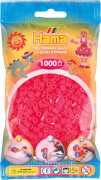 HAMA 207-32 Bügelperlen Midi - Neion Fuchsia 1000 Perlen, ab 5 Jahren
