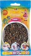Hama® Perlen, braun, 1.000 Stück