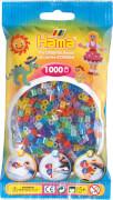 Hama® Bügelperlen Midi - Transparent Glitter Mix 1000 Perlen