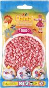 HAMA Perlen, hellrot, 1.000 Stück