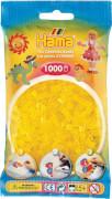HAMA Perlen, Transparent-Gelb, 1.000 Stück