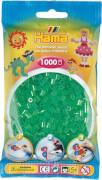 HAMA Perlen, Transparent-Grün, 1.000 Stück