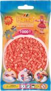 HAMA Perlen Midi - Pastell Rot 1000 Perlen