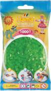 HAMA Perlen Midi - Neon Grün 1000 Perlen