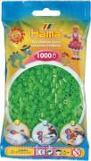 HAMA Beutel mit Perlen Fluor Grün 1.000Stück