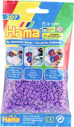 Hama® Bügelperlen Midi - Lila 1000 Perlen