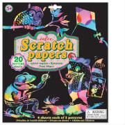 Kratzpapier, Muster