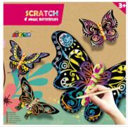 Avenir - Kontur Kratzbilder Schmetterlinge