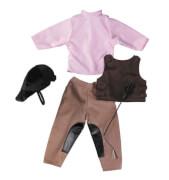 Götz 3401553 Reiter Outfit Puppenbekleidung Gr. XL, 7-teilig, für Stehpuppen 42-50 cm