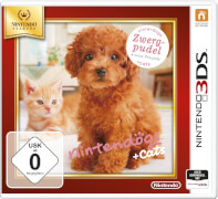 Nintendo Nintendogs Toy Poodle + New Friends Selects USK 0