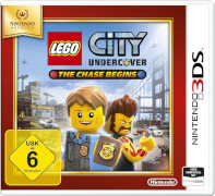 2DS/3DS Lego City Undercover: The Chase Begins Selects USK 6