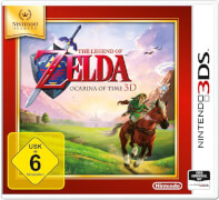 2DS/3DS The Legend of Zelda: Ocarina of Time 3D Selects USK 6