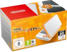 Nintendo 2DS New Nintendo 2DS XL Weiß + Orange