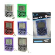 TOITOYS Schlüsselanhänger mit mini Gamebox, 6-fach sortiert