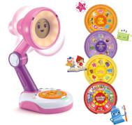 Vtech 80-546254 Funny Sunny, die interaktive Lampen-Freundin pink