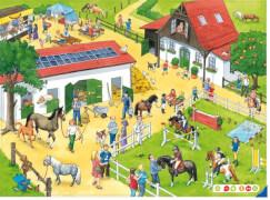 Ravensburger 5185 tiptoi® - Puzzeln, Entdecken, Erleben: Der Ponyhof