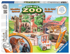 Ravensburger 7325 tiptoi® - Tier-Set Zoo