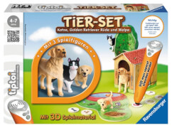 Ravensburger 7448 tiptoi® - Tier-Set Golden Retriever