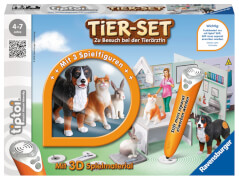 Ravensburger 00747 tiptoi® - Tier-Set Tierarztpraxis