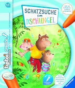 Ravensburger 009053 tiptoi® CREATE Schatzsuche im Dschungel