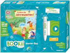 Tessloff BOOKii® Starterset WAS IST WAS Kindergarten Erlebe die Jahreszeiten!