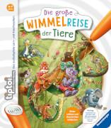 Ravensburger 65884 tiptoi® Die große Wimmelreise der Tiere
