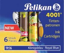 Pelikan Tintenpatrone TP/F/6 königsblau mit Motiv