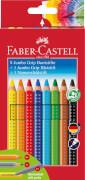 Faber-Castell Jumbo GRIP Promo-Etui 8+1+1