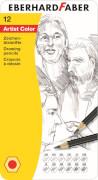 Eberhard Faber Zeichenbleistifte Artist Color 12er-Metalletui
