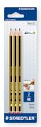 Bleistift Noris HB x 3 BK  PEF