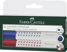 Faber-Castell Whiteboardmarker Grip 1583 4er Etui