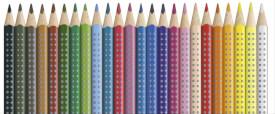 Faber-Castell Buntstift Colour Grip 24er Etui
